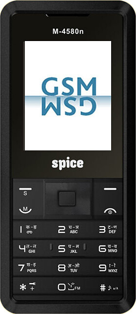 Spice Mobile M-4580n