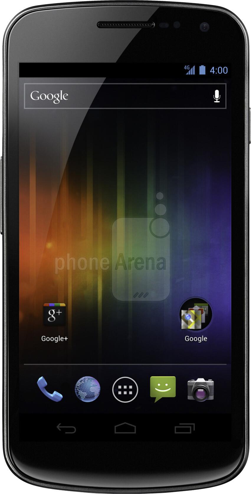 Samsung GALAXY Nexus Size - Real life visualization and comparison