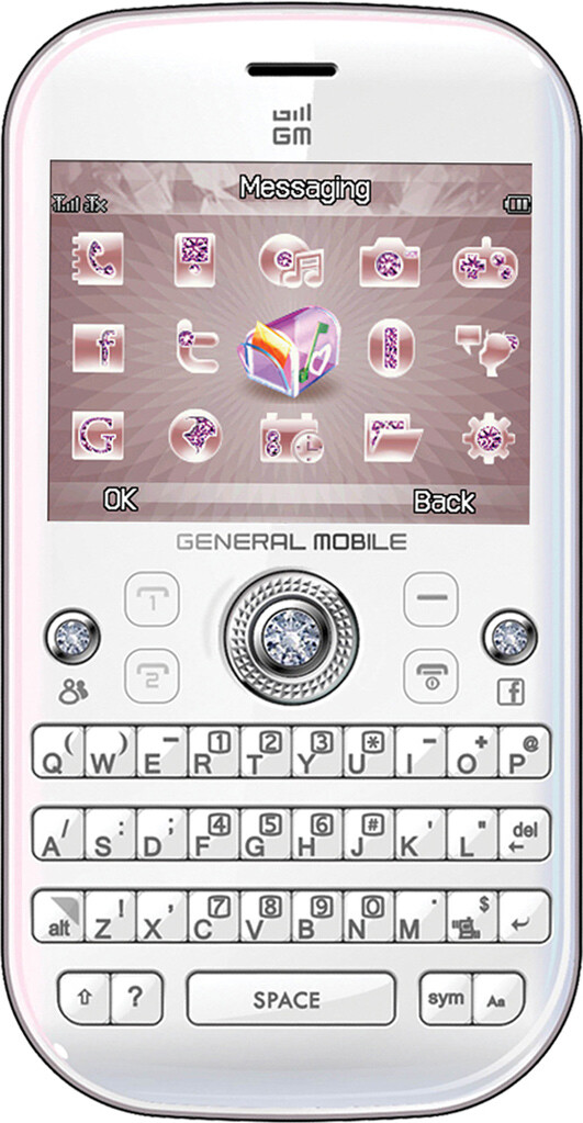 General Mobile Diamond Qwerty