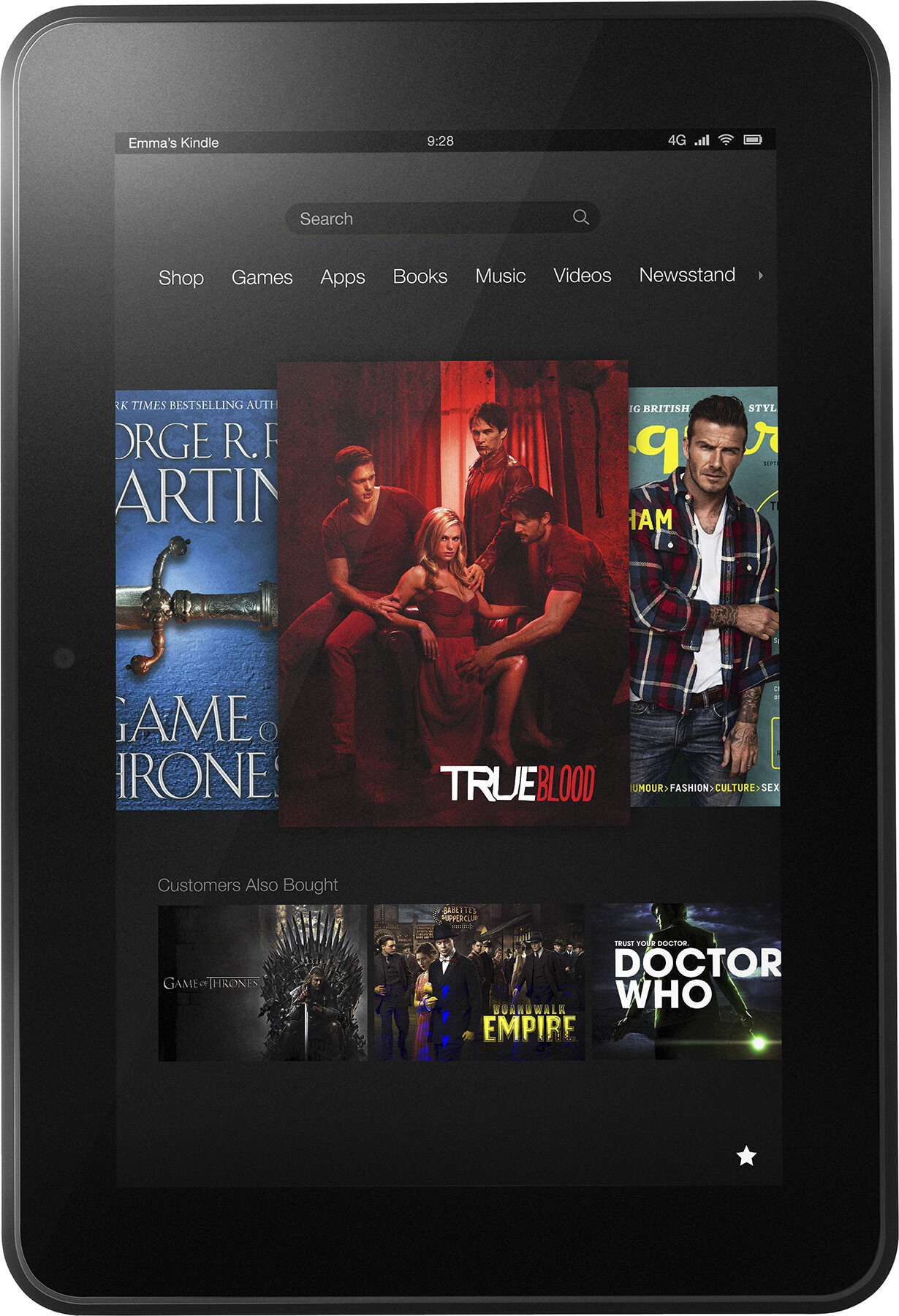Amazon Kindle Fire HD 8 9 Size - Real life visualization and