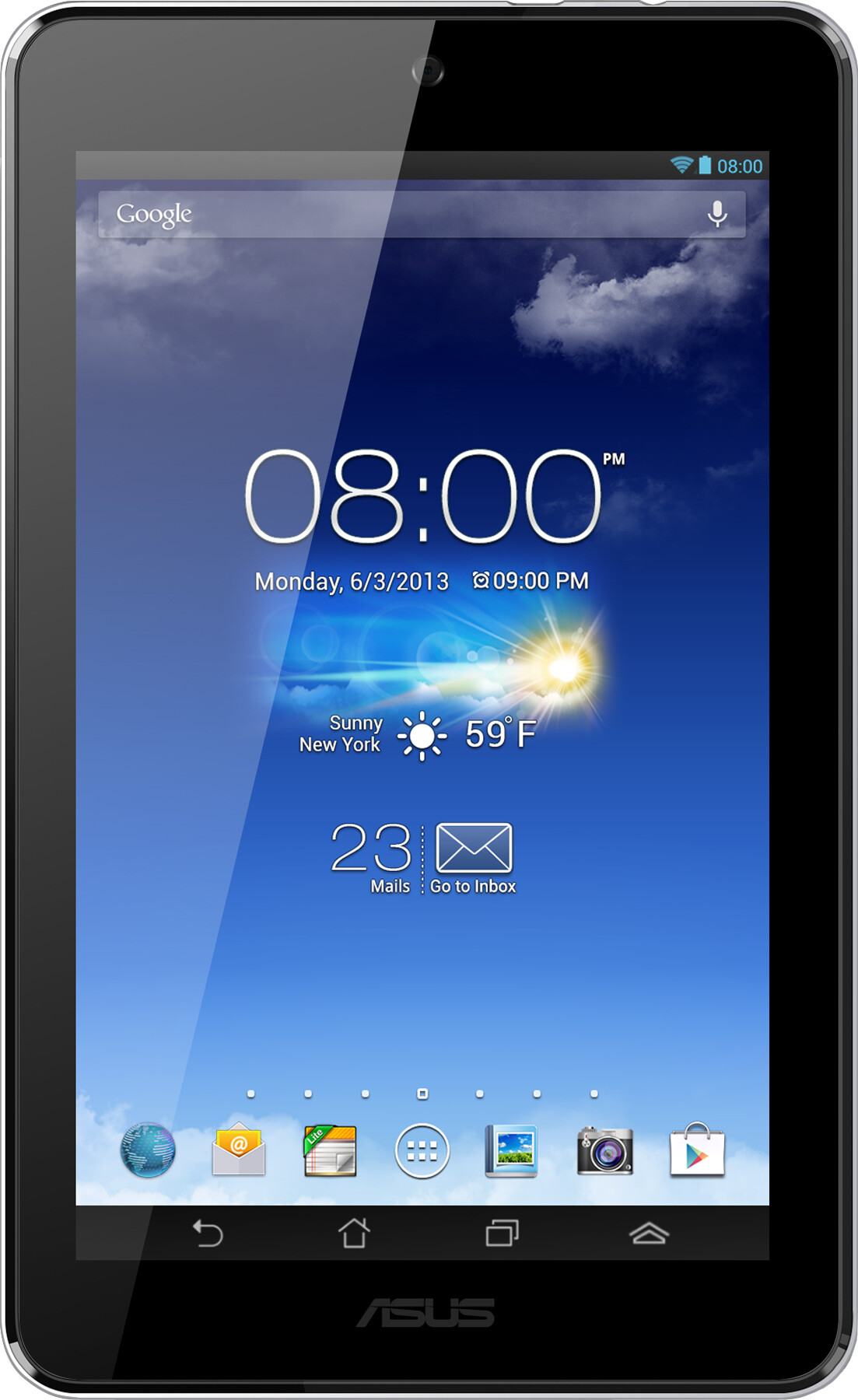 Asus MeMO Pad HD 7 Size - Real life visualization and comparison