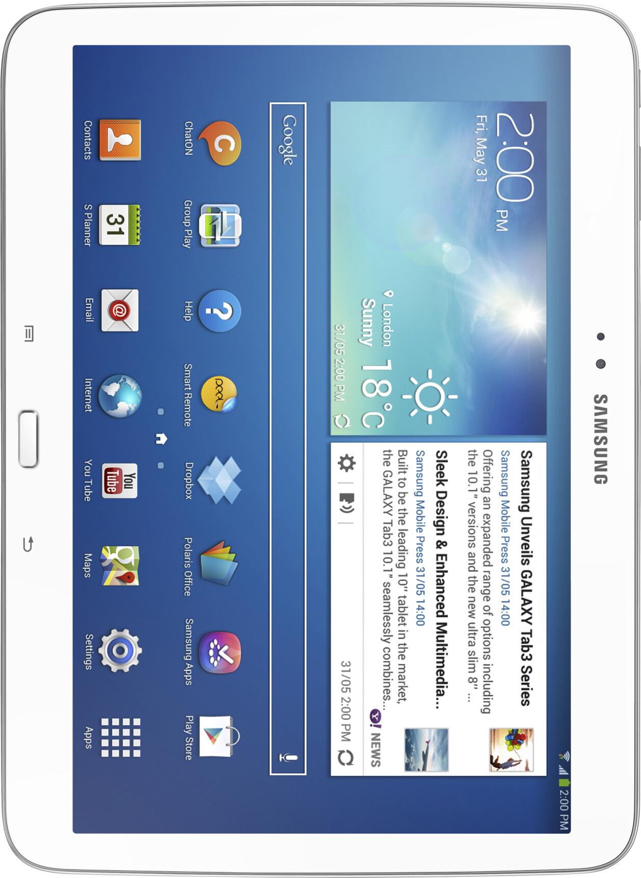 Samsung Galaxy Tab  Inch