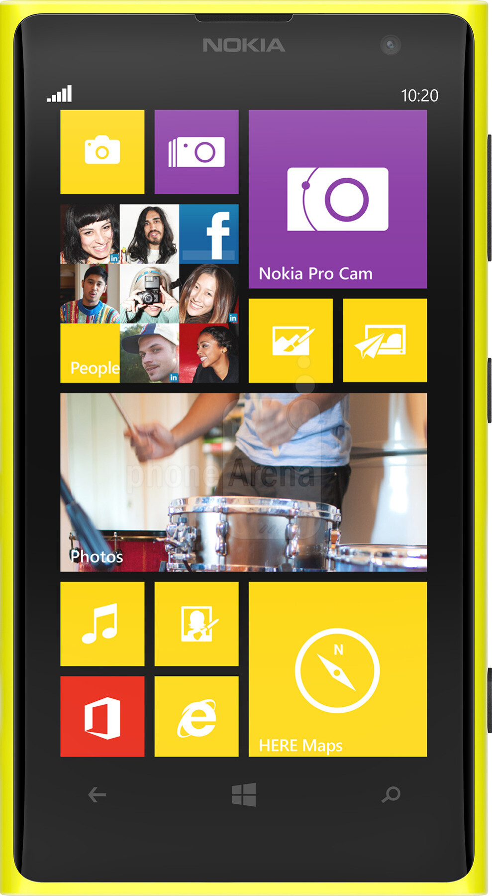 Nokia 808 Pureview vs Nokia Lumia 1020 Nokia Lumia 1020