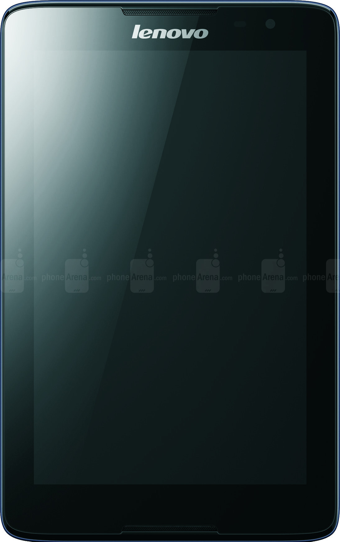 Lenovo Tab A8 vs Huawei MediaPad M1 - Visual phone size compare