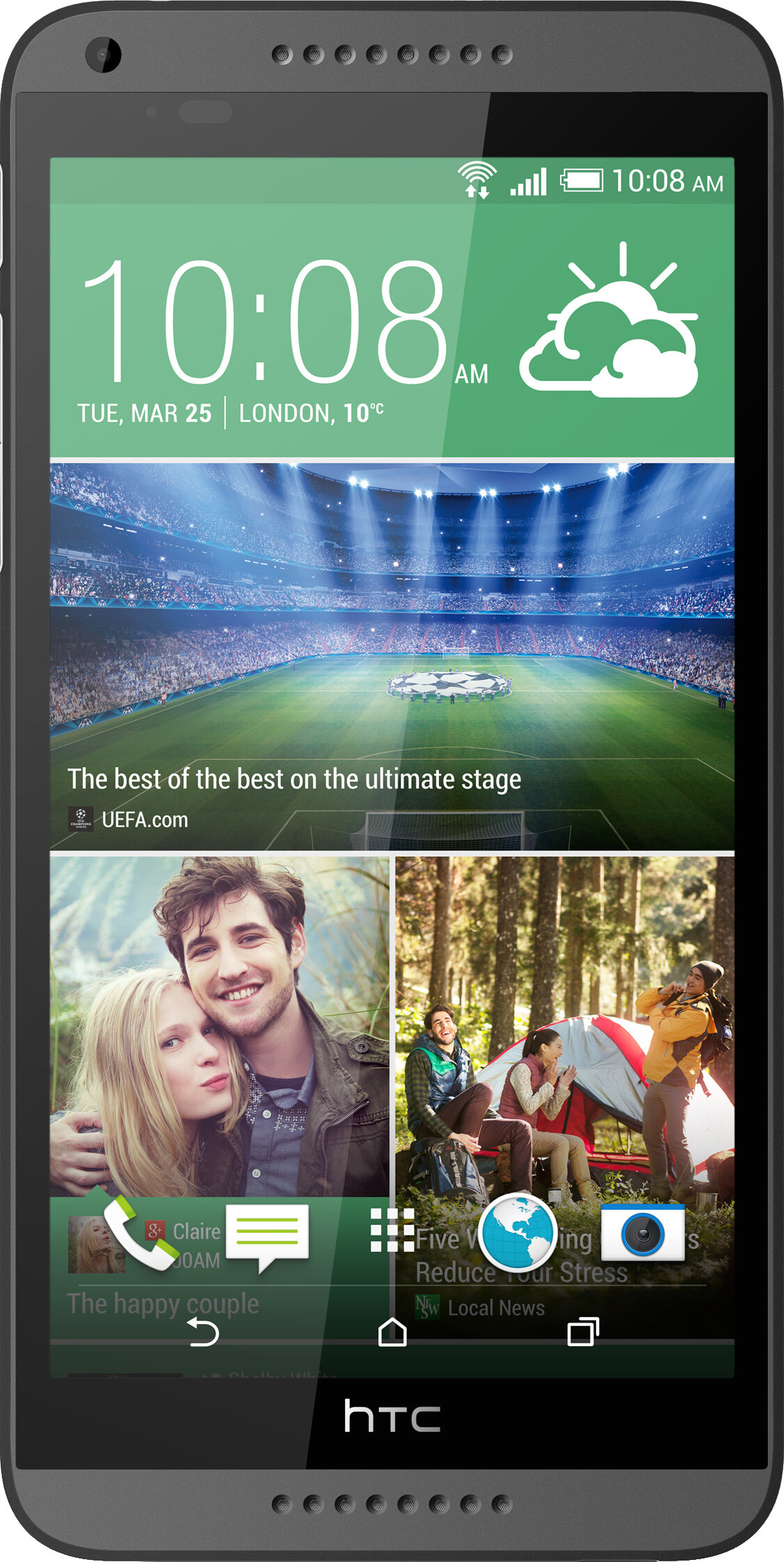 HTC Desire 816 Size - Real life visualization and comparison