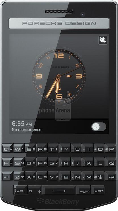blackberry porsche design p 39 9983 size real life. Black Bedroom Furniture Sets. Home Design Ideas