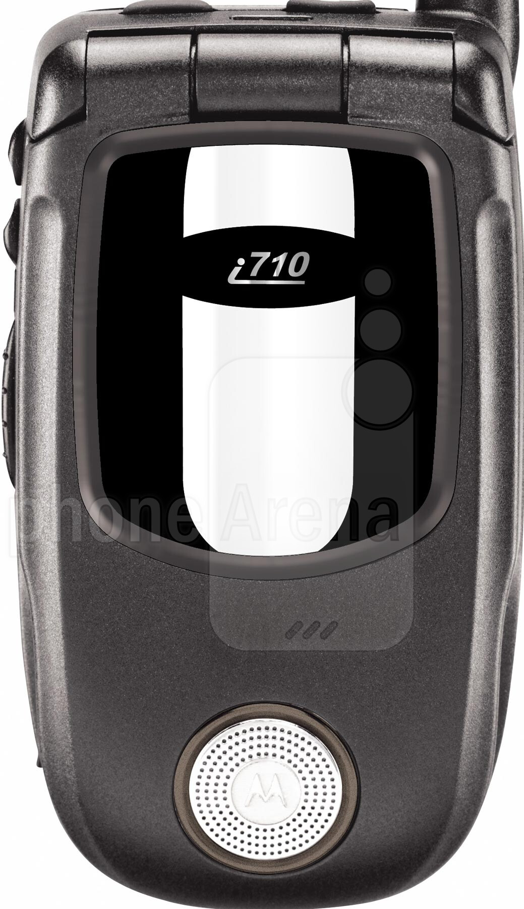 Motorola i710 Size - Real life visualization and comparison
