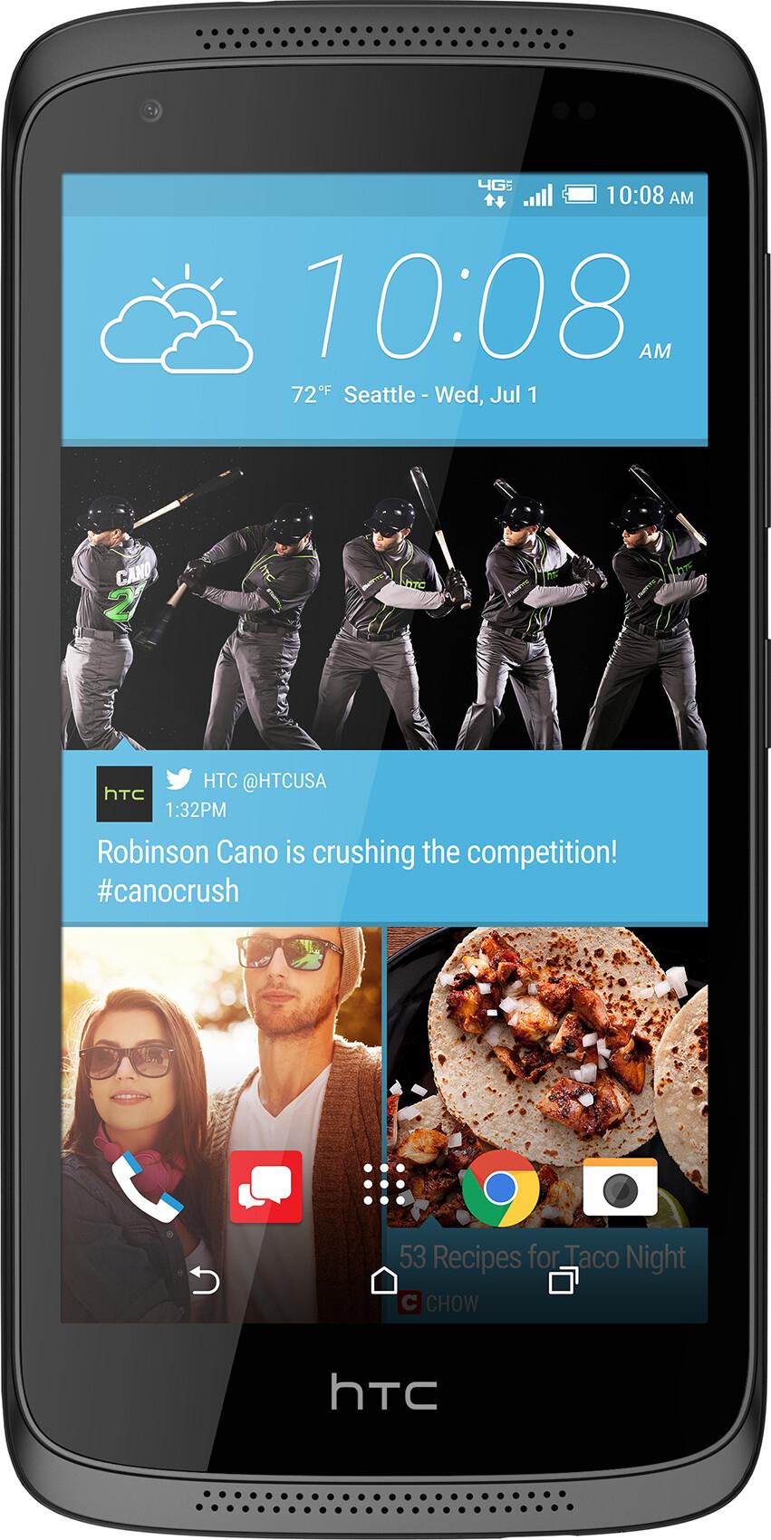 HTC Desire 526 vs Motorola Moto E4 vs LG Aristo 2 - Visual