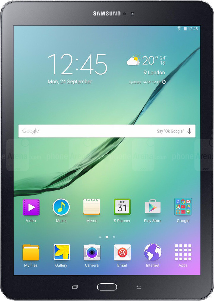 Samsung Galaxy Tab S2 9.7-inch Size - Real life visualization and ... 1769241c2e8e