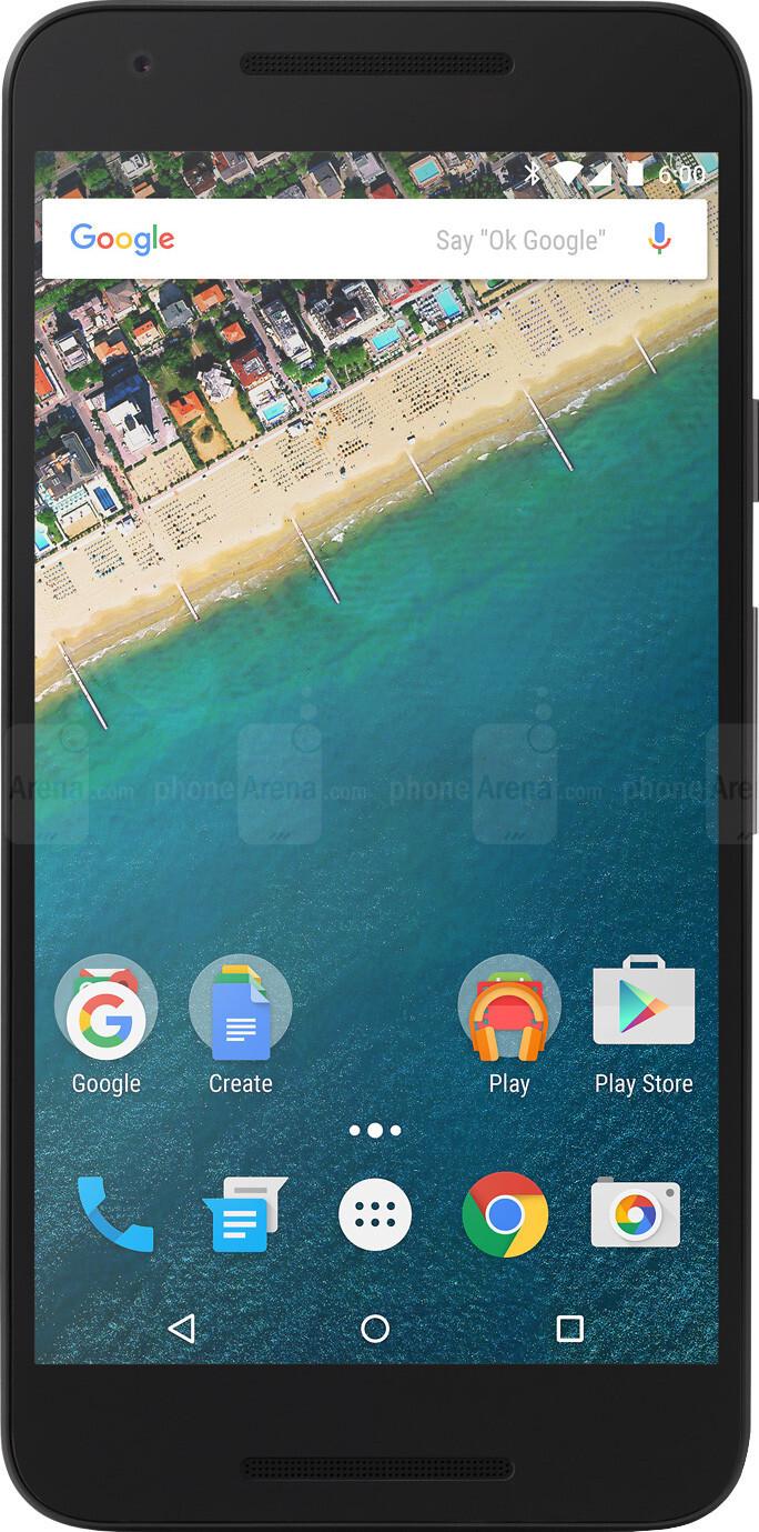 Google Nexus 5X vs Google Nexus 6P - Visual phone size compare