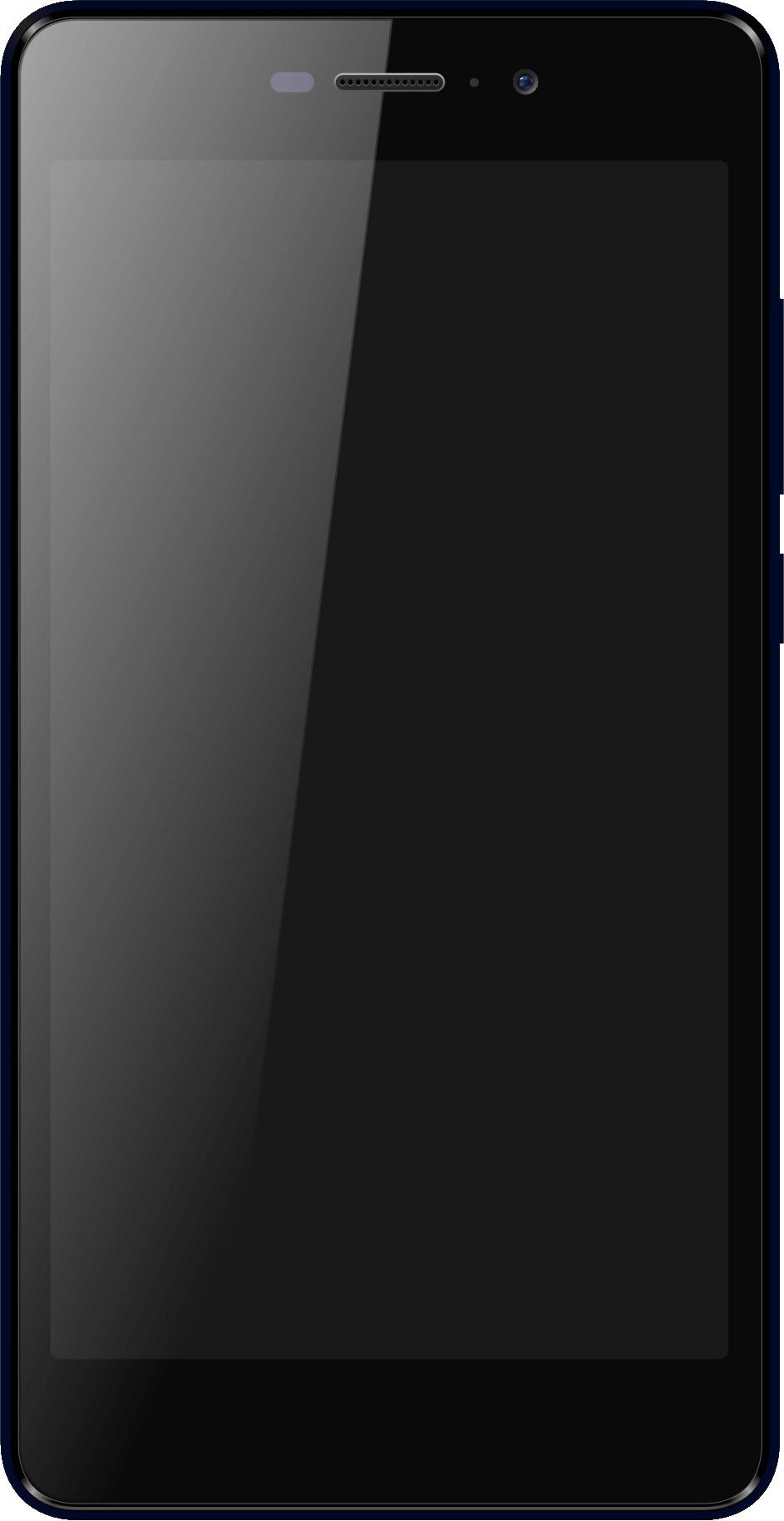 Micromax Canvas Mega vs Samsung Galaxy S5 - Visual phone size compare