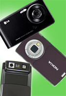 LG Viewty, Samsung G600 and Nokia N95 Camera Comparison