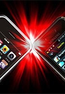 Touchscreen phone comparison Q3 - U.S. carriers