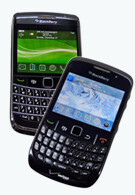 RIM BlackBerry Bold 9700 and Curve 8530: side by side