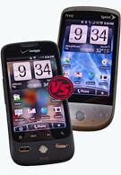 HTC Hero and HTC DROID ERIS: side by side