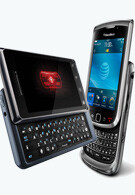 Motorola DROID 2 vs RIM BlackBerry Torch 9800
