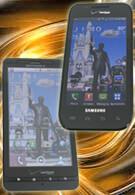 Samsung Fascinate vs Motorola DROID X