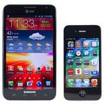 Samsung Galaxy Note LTE vs Apple iPhone 4S