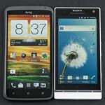 HTC One X vs Sony Xperia S