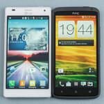 LG Optimus 4X HD vs HTC One X