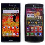 Sony Xperia ion vs LG Nitro HD