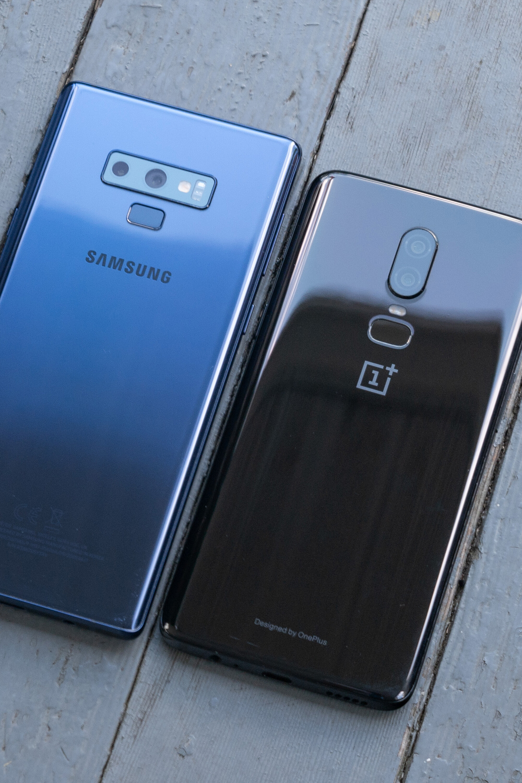 Samsung Galaxy Note 9 vs OnePlus 6 - PhoneArena