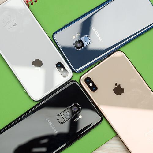 Apple iPhone XS / Max vs Samsung Galaxy S9 / S9+ - PhoneArena