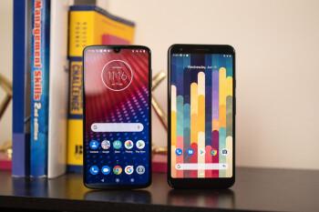 Motorola Moto Z4 vs Google Pixel 3a XL