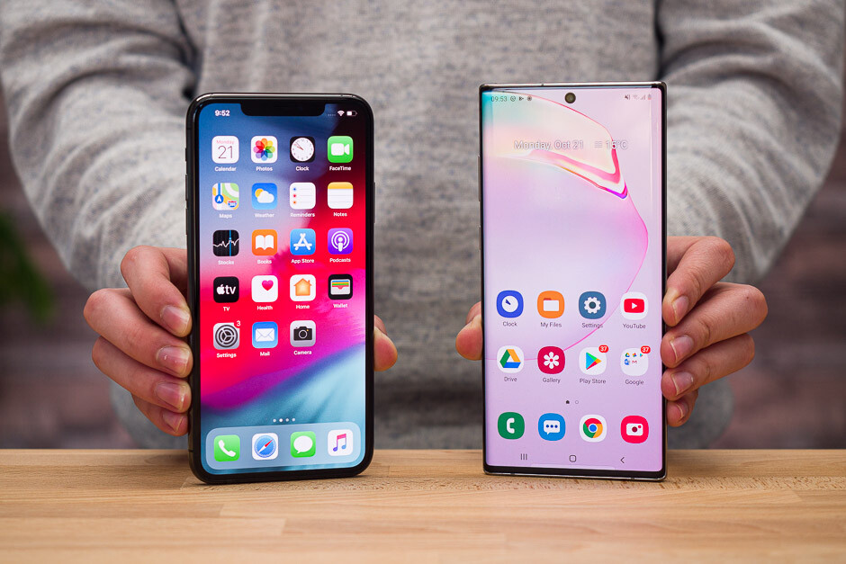 iPhone 11 Pro Max vs Galaxy Note 10+