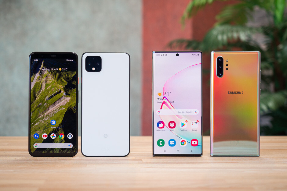 Google Pixel 4 XL vs Samsung Galaxy Note 10+