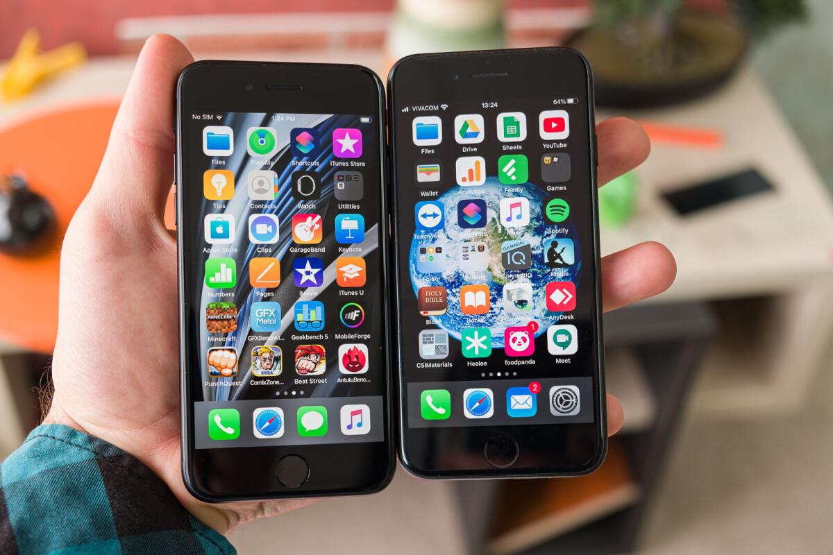 IPHONE 7 VS IPHONE SE SIZE