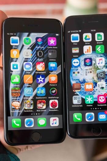 Apple iPhone SE (2020) vs iPhone 8 vs iPhone 7