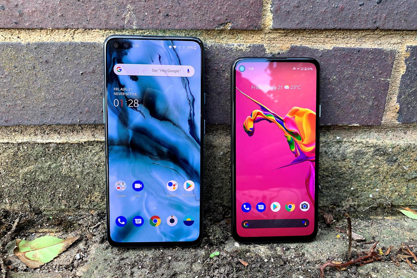 Google Pixel 4a vs OnePlus Nord