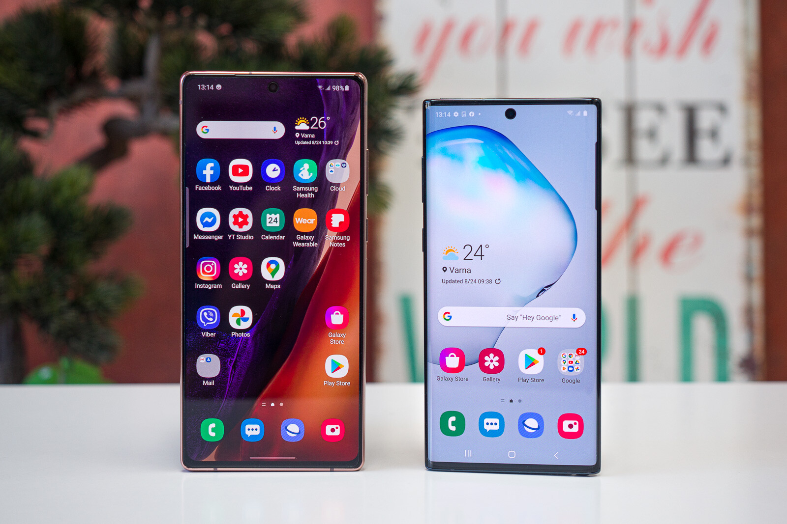 "Samsung Galaxy Note 20 vs Galaxy Note 10: battle of the ""cheap"" Notes"