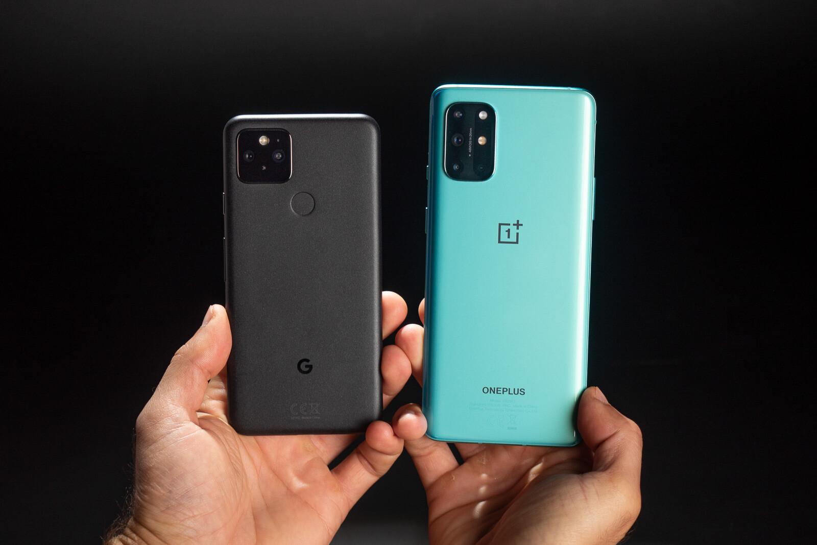 OnePlus 8T vs Pixel 5