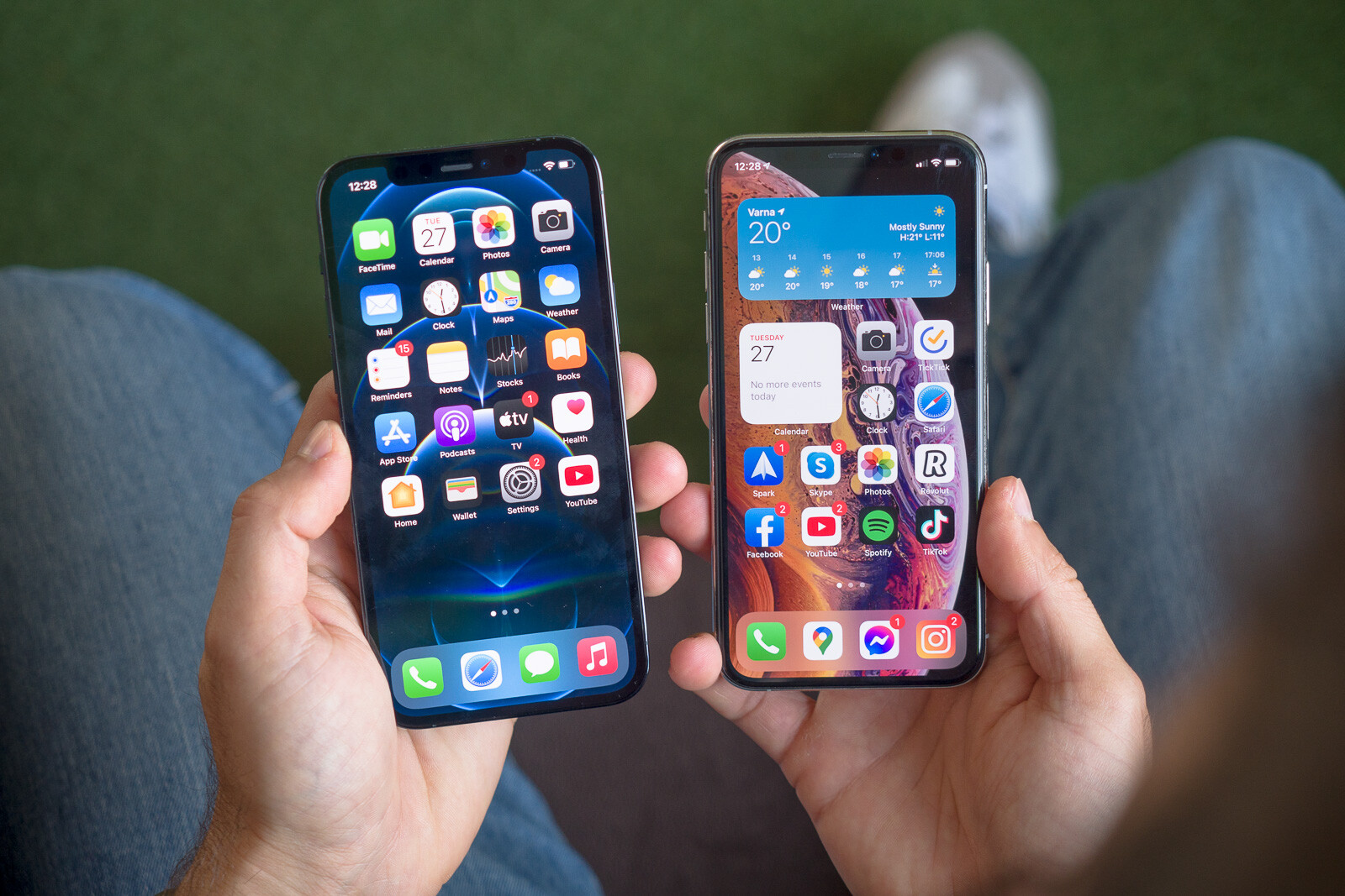 Apple iPhone 12 Pro/Max vs iPhone XS/Max