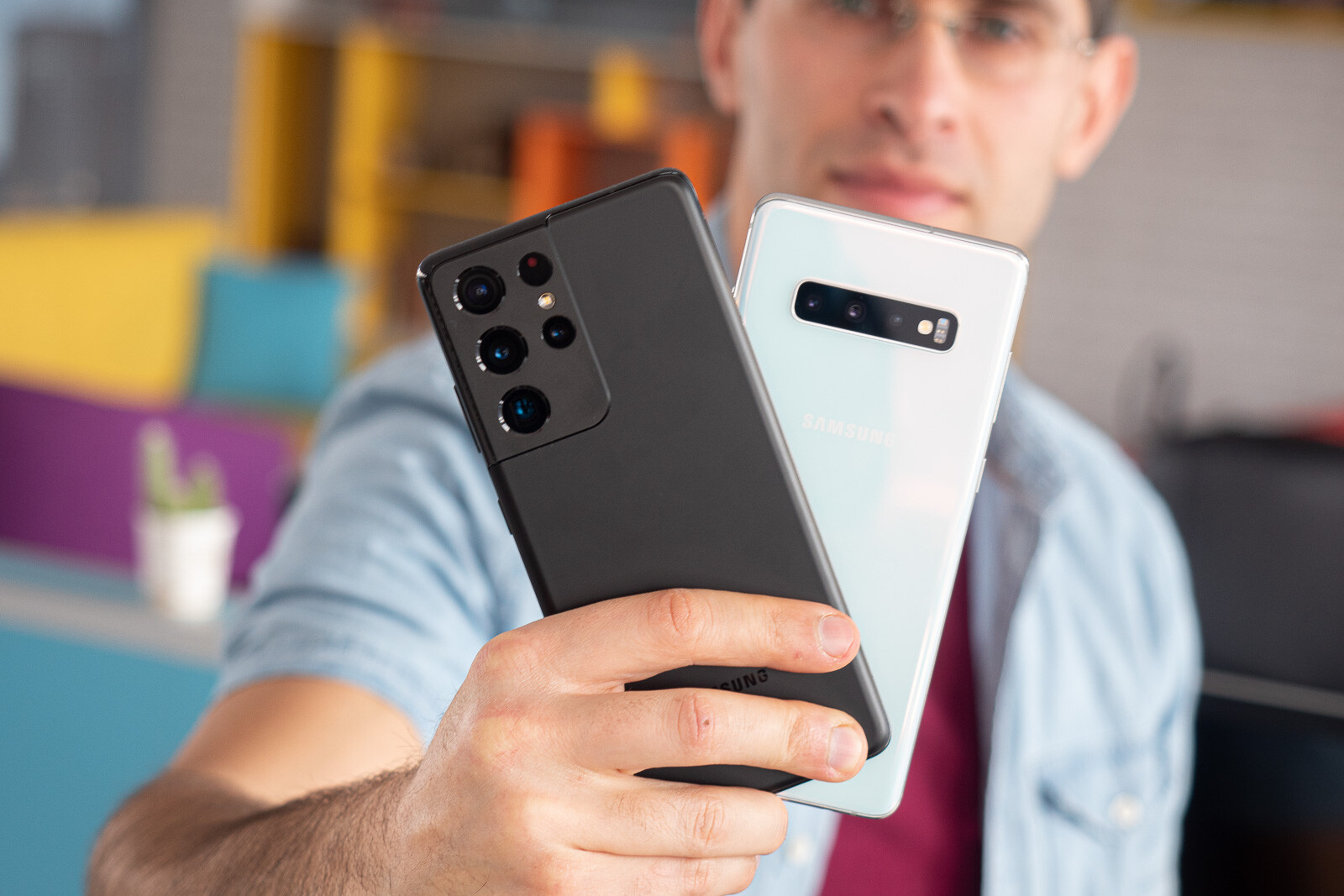 Samsung Galaxy S21 Ultra vs Galaxy S10 Plus