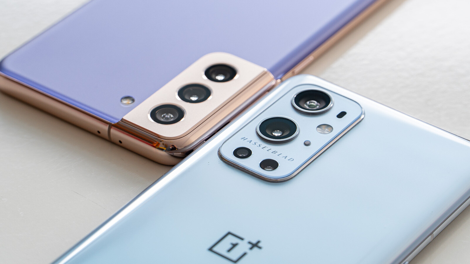 Samsung Galaxy S21 Plus vs OnePlus 9 Pro