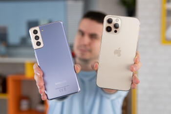 Samsung Galaxy S21 Plus vs Apple iPhone 12 Pro Max