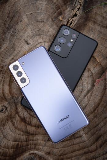 Samsung Galaxy S21 Plus vs Galaxy S21 Ultra