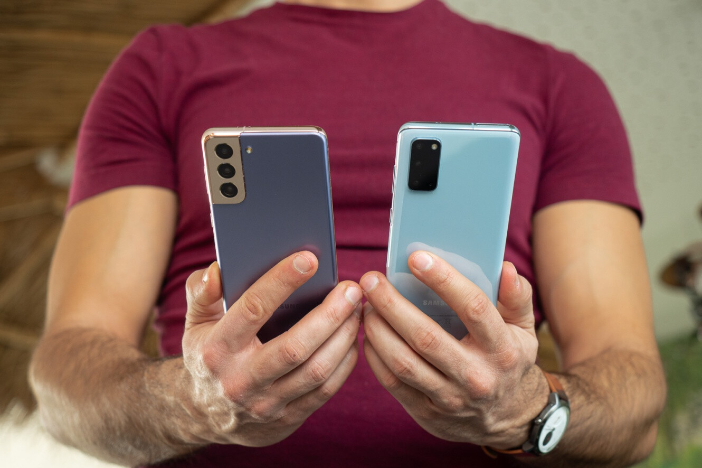 Samsung Galaxy S21 vs Galaxy S20