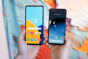Samsung Galaxy A52 5G vs Google Pixel 4a 5G: early comparison