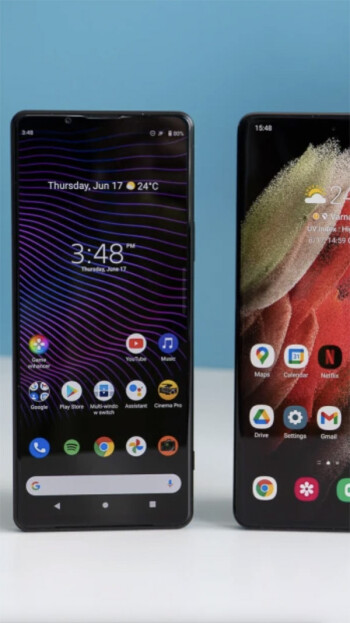 Sony Xperia 1 III vs Samsung Galaxy S21 Ultra