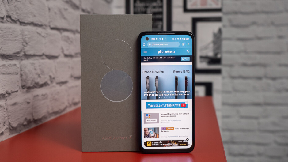 Asus Zenfone 8 review: Just the right size