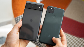 Google Pixel 6 vs Pixel 5a: preliminary comparison