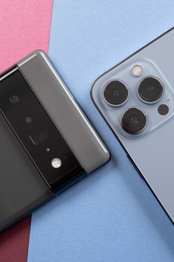 Google Pixel 6 Pro vs iPhone 13 Pro: Early comparison