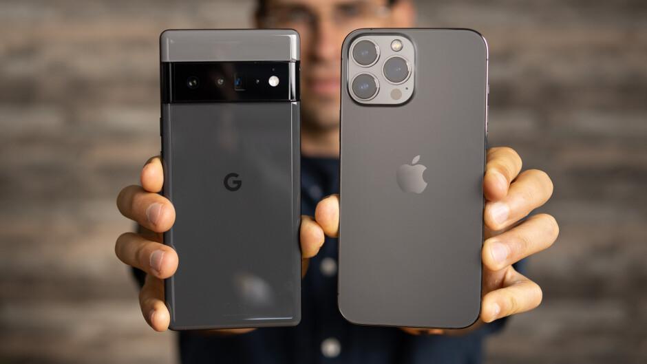 iPhone 13 Pro Max vs Pixel 6 Pro