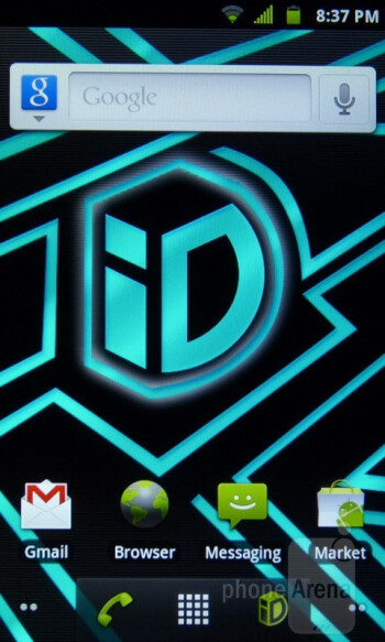 Home screen - LG Marquee Review
