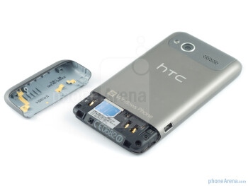 The SIM card slot - HTC Radar Review