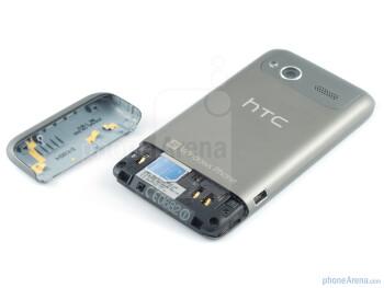 The SIM card slot - HTC Radar Review